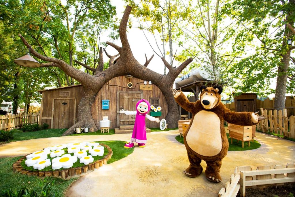 Leolandia Hotel- La Foresta di Masha e Orso esterno